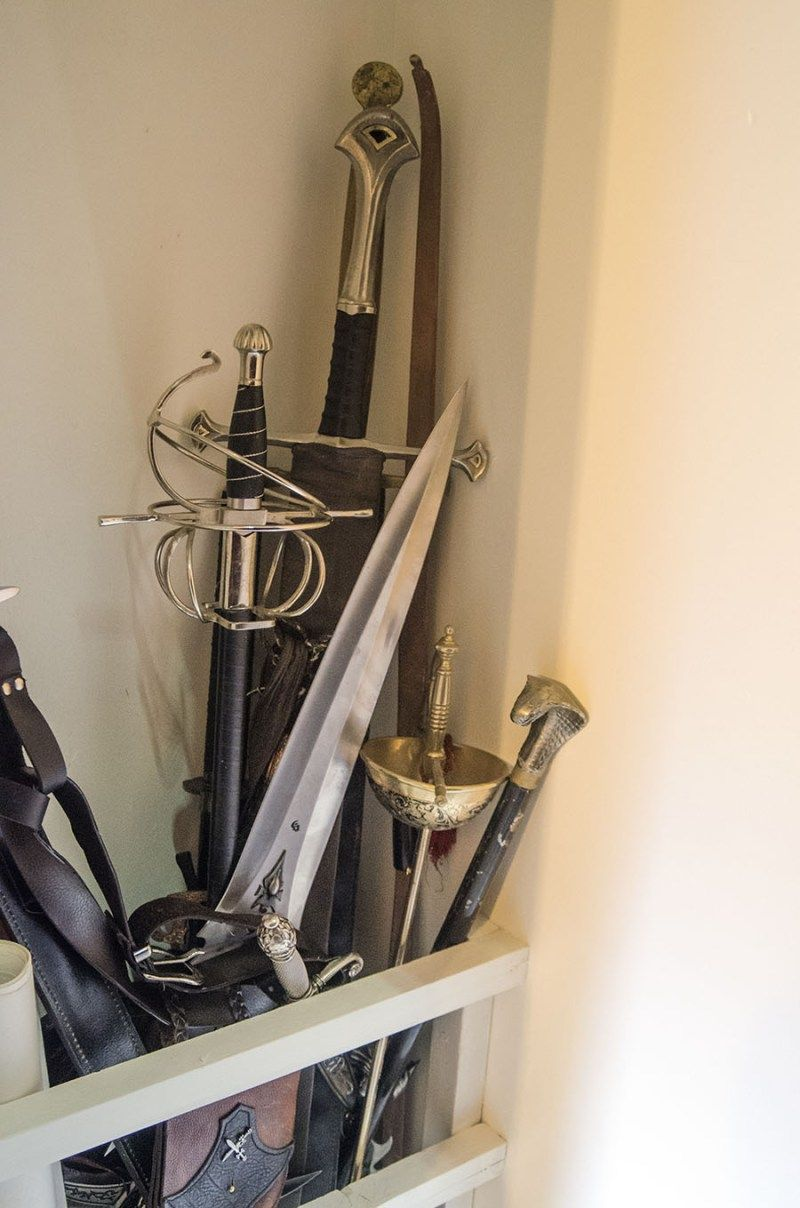 Easy Diy Cosplay Sword And Prop Storage Domestic Geek Girl