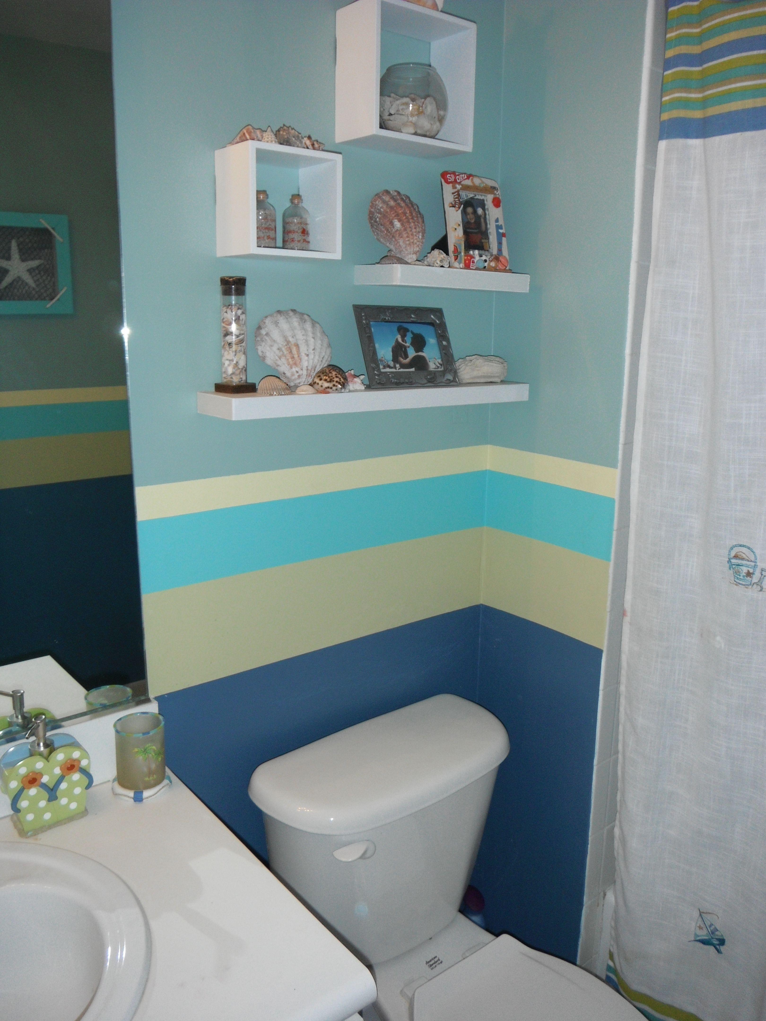 Great PRISM Painting U0026 Pressure Wash: Boy/Girl Shared Bathroom. 5 Custom Colors,