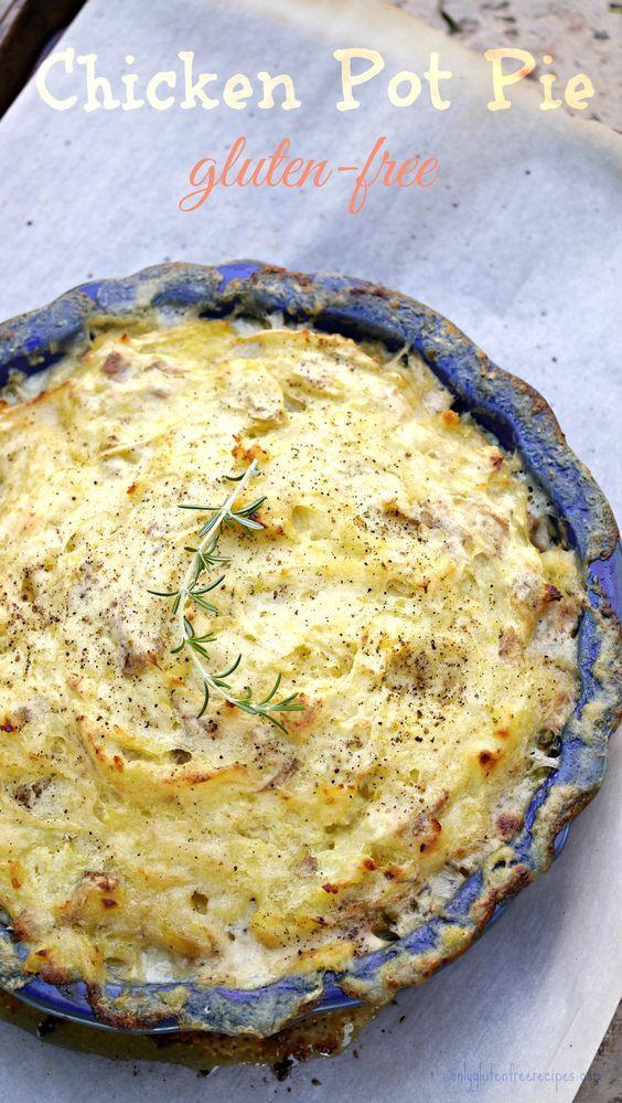 Gluten Free Chicken Pot Pie Recipe Chicken pot pie