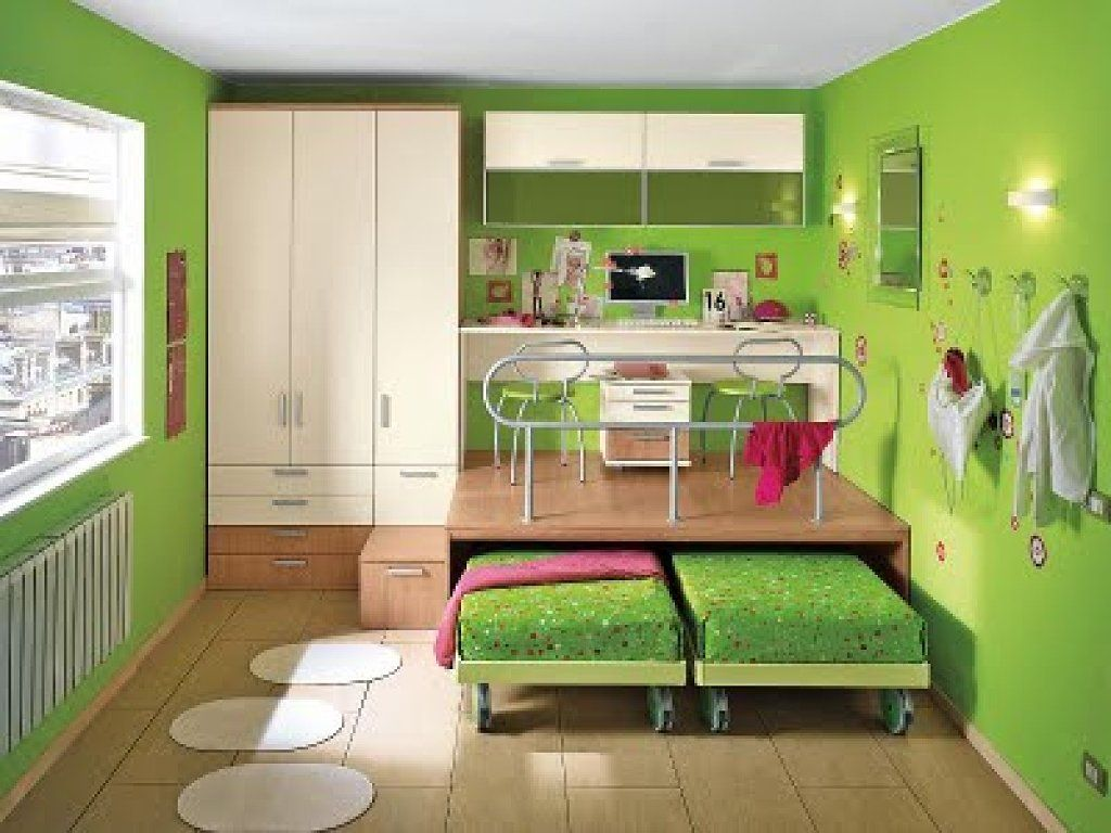 Ideas decoracion cuartos infantiles peque os casa for Habitaciones pequenas modernas