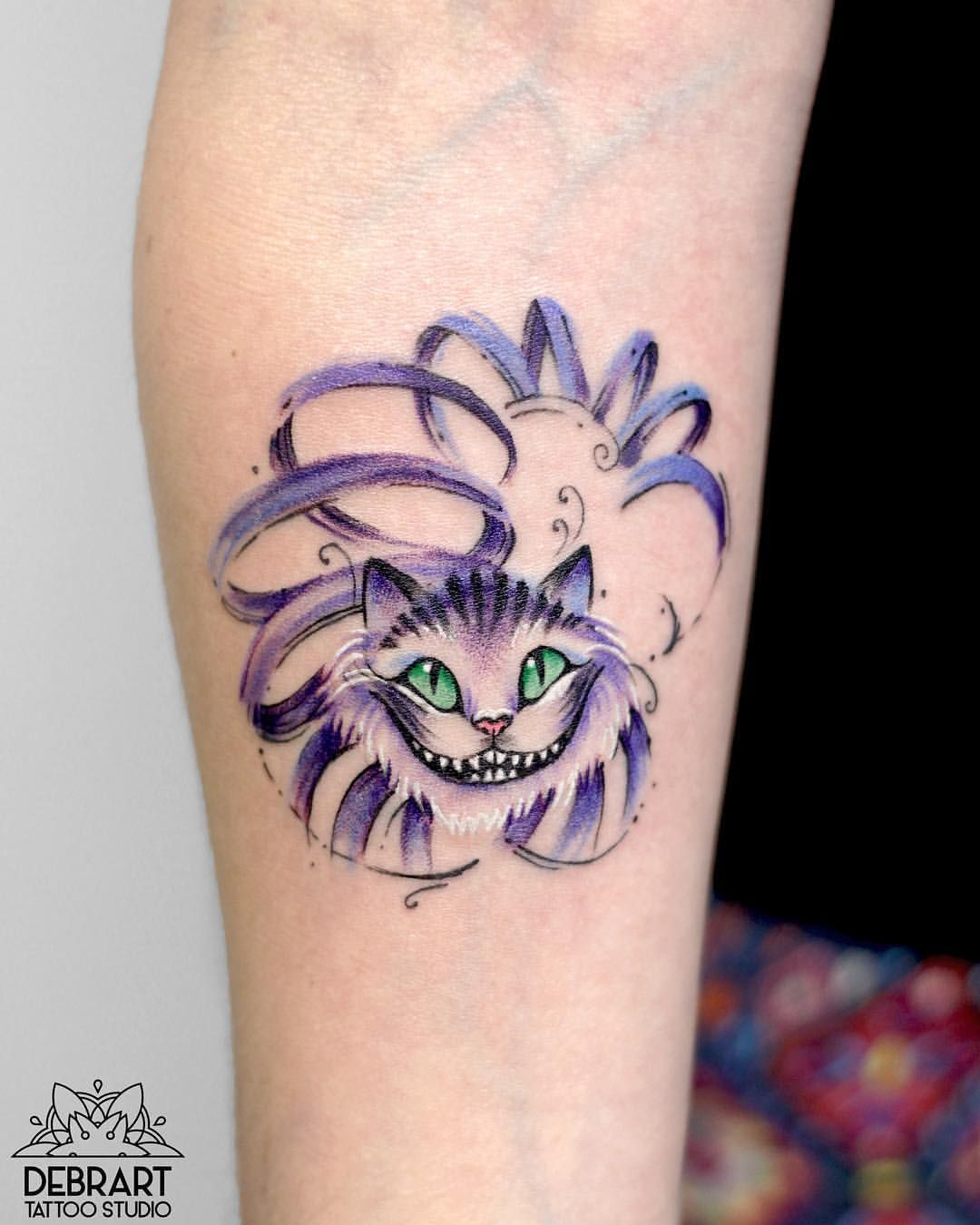 Image result for cheshire cat tattoo | Cheshire Cat tattoo ...
