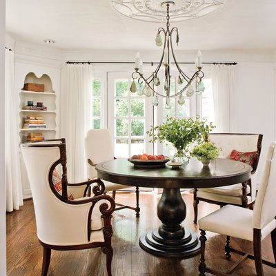 Decorating  C B Lighten Up With Windows Stylish Dining Room Decorating Ideas Southern Living