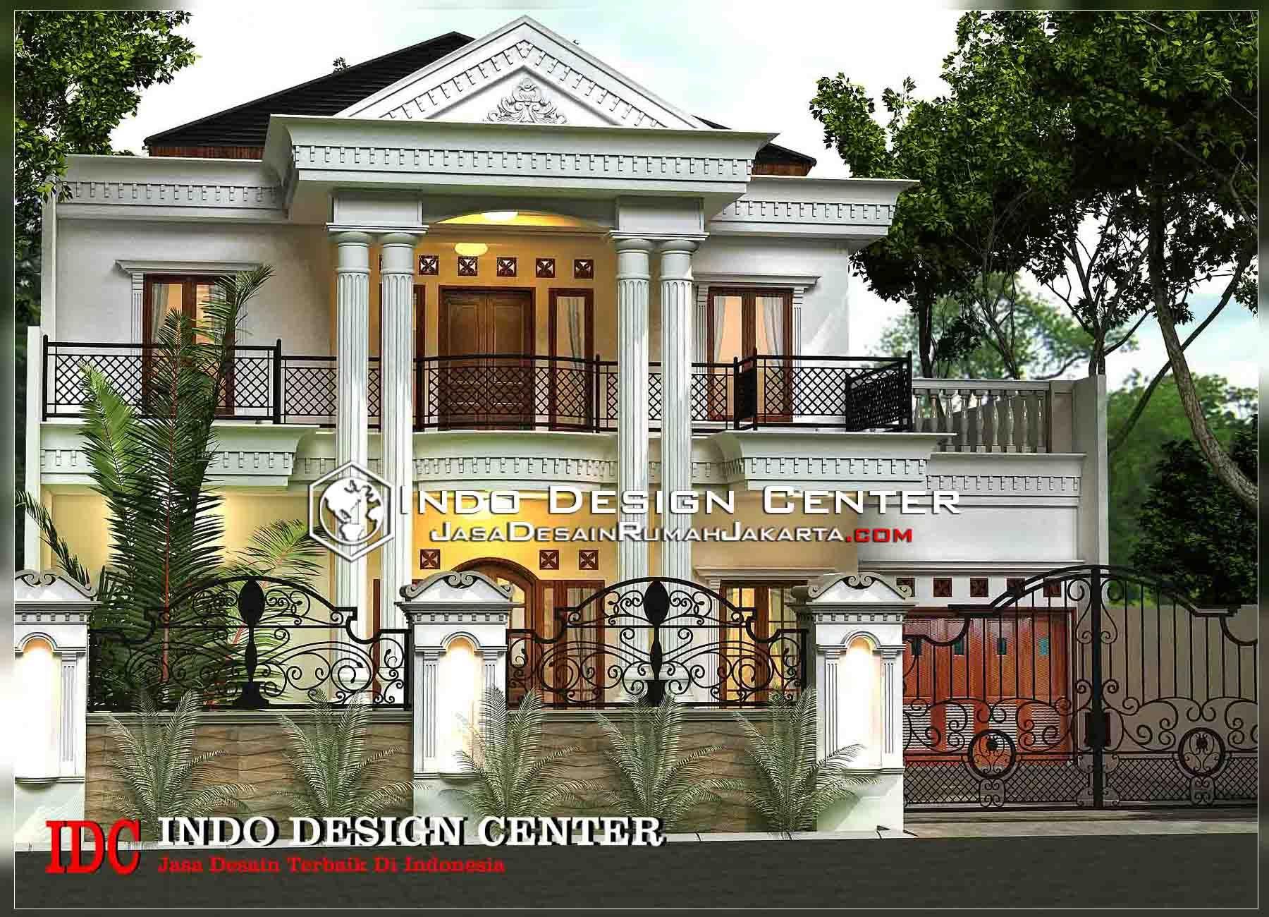 Desain Teras Rumah Klasik 2 Lantai Di 2021 Rumah Desain Rumah Rumah Minimalis
