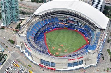Top 5 Social Landmarks Rogers Centre Toronto Blue Jays Baseball Park