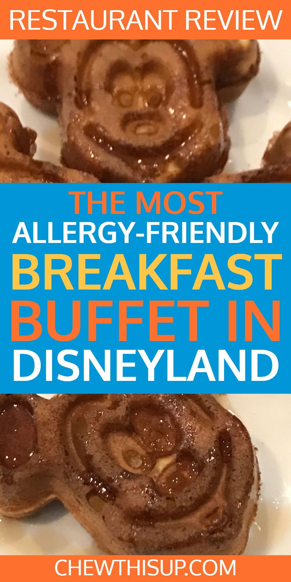 The Most Allergy Friendly Breakfast Buffet At Disneyland | Gluten ...