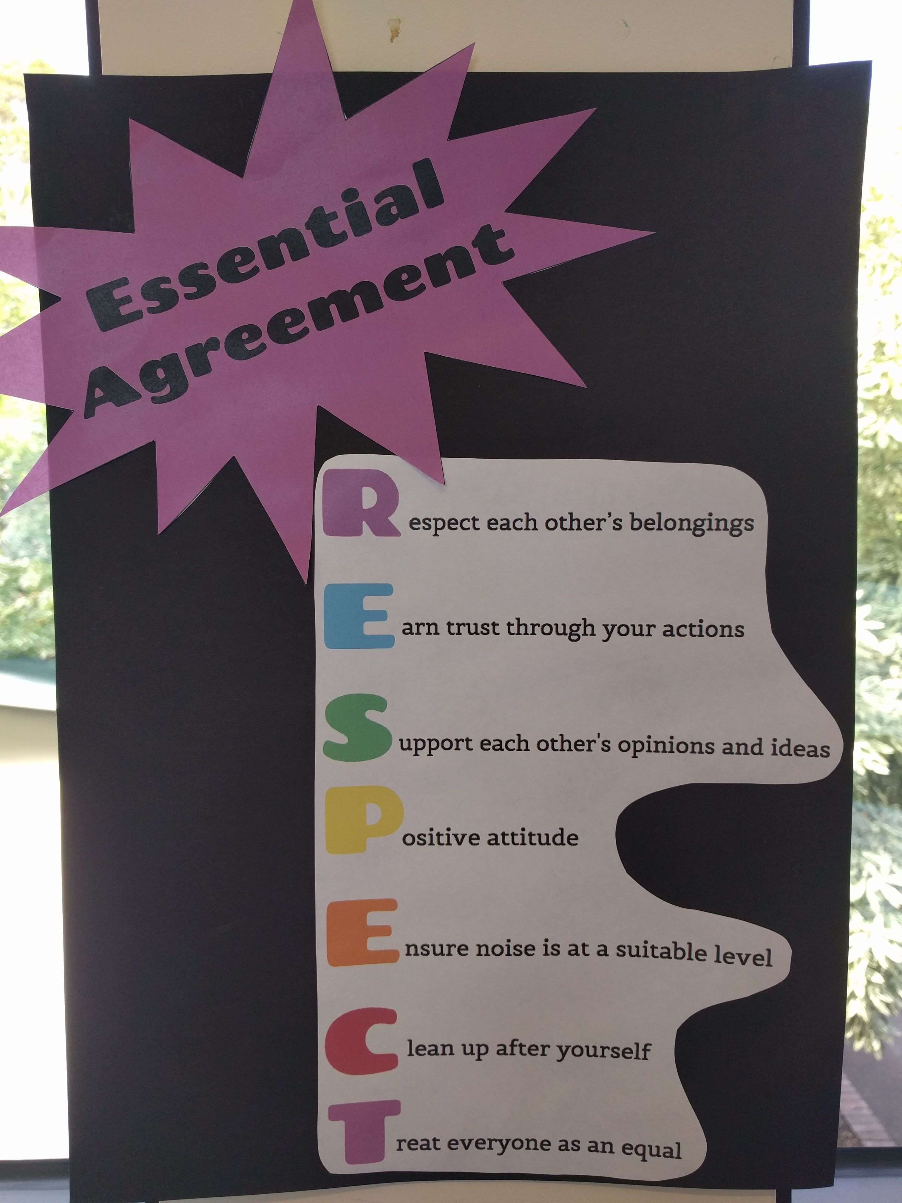 Essential Agreement  Beginning Of Year    Behavior