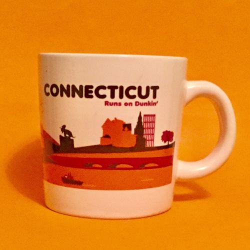 Dunkin Donuts Destination Connecticut Coffee 2012 Mug Cup