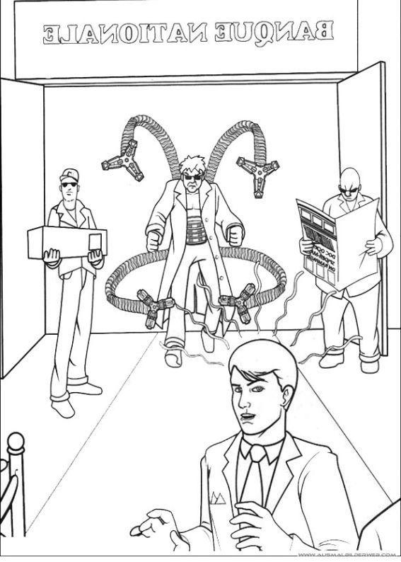 Ausmalbilder Marvel: Pin Von DIY DEKO GARTEN Auf Ausmalbilder Spiderman