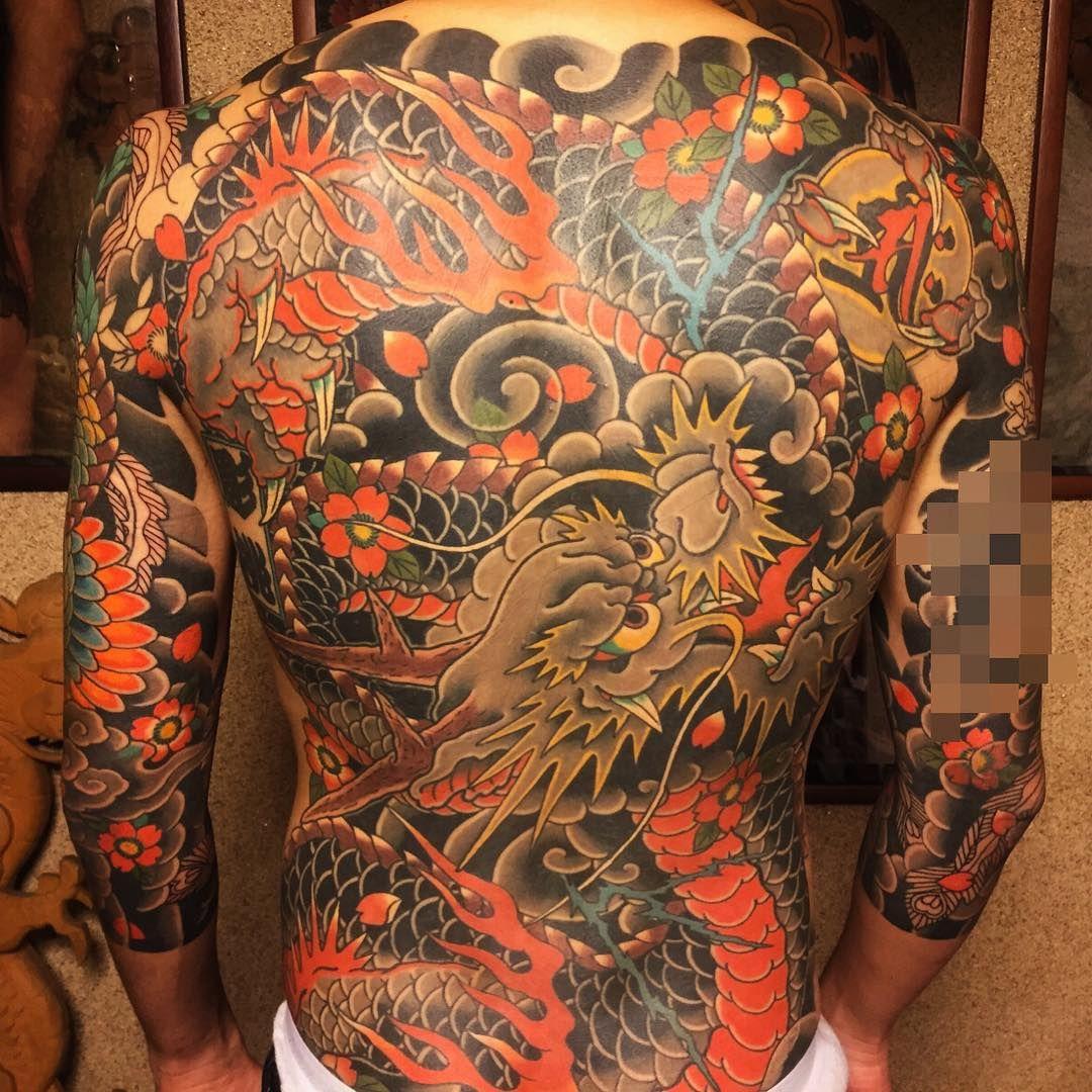 horimomo Japanse tatoeages