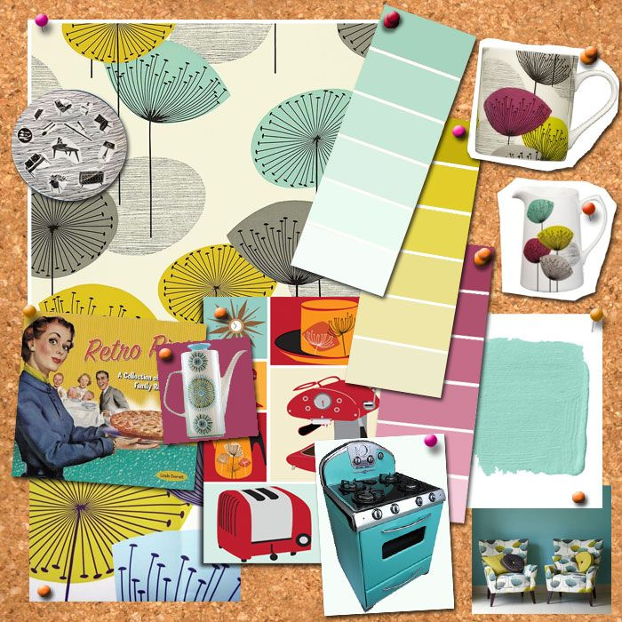 how to make you own mood board http://www.midcenturykitchens.co.uk ...
