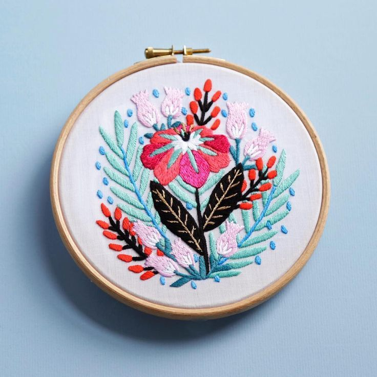 The Best Free Embroidery Patterns You Can Download And Sew Right Now