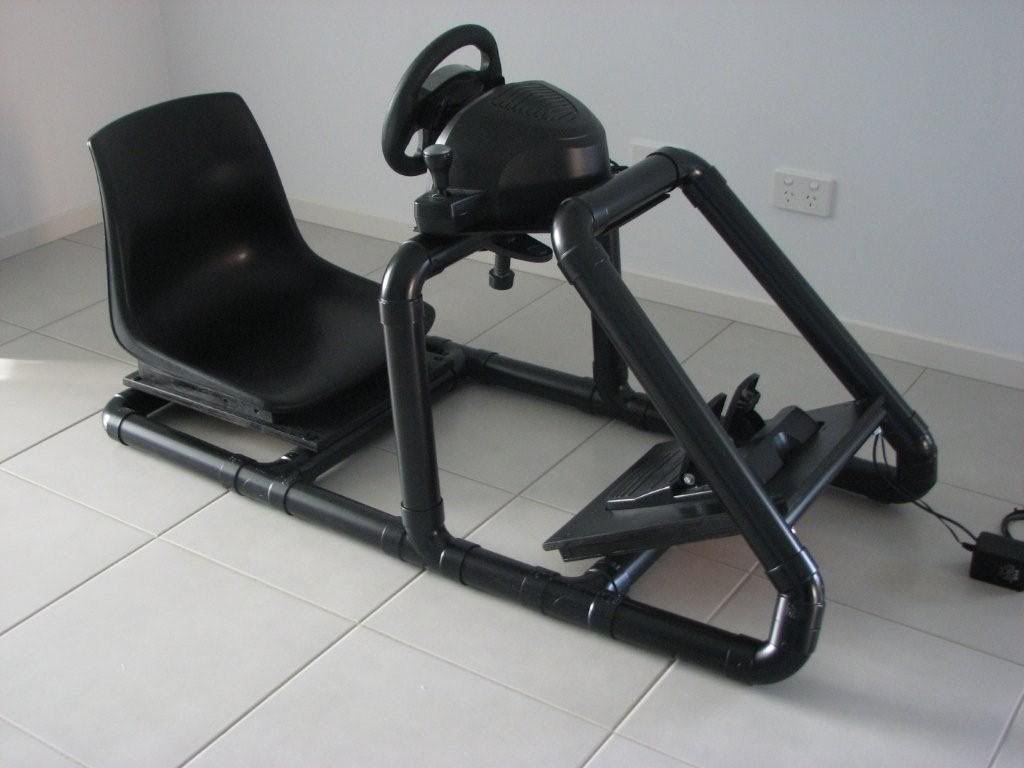 Fine Create Gaming Chair Car Frame With Pvc Pipimg Easiest Way Pdpeps Interior Chair Design Pdpepsorg