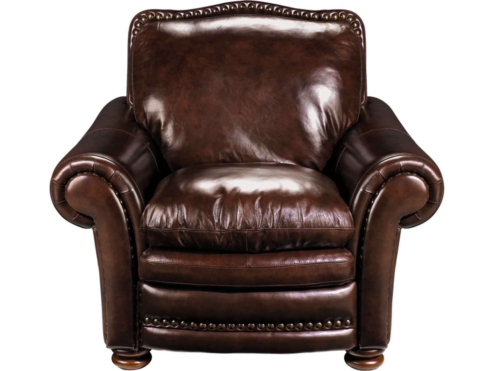 McKinsley Burgundy Leather Chair   Value City Furniture #ValueCityPinToWin