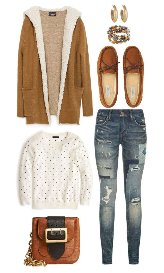 """Untitled #2625"" by abbyolson on Polyvore featuring Zara, J.Crew, Polo Ralph Lauren, Aéropostale, Burberry, Hipchik and House of Harlow 1960"