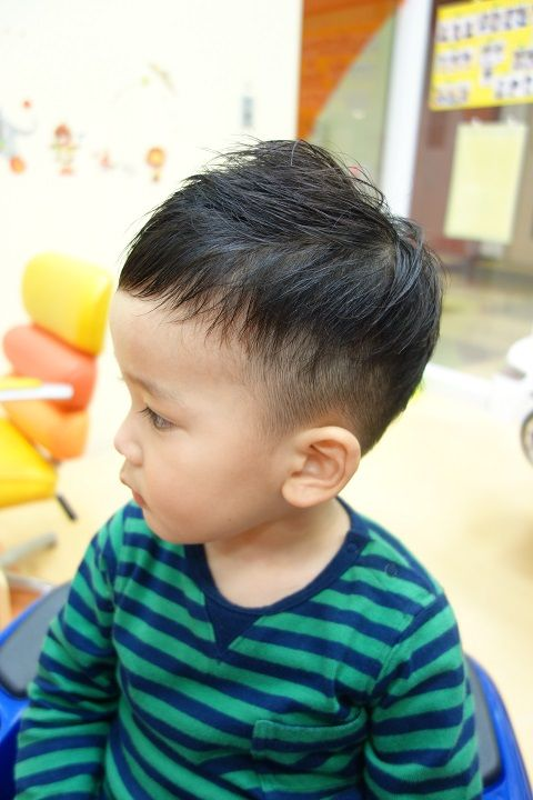 小学生のキッズ限定 髪型でイケメンに変身 男の子のトレンドヘア