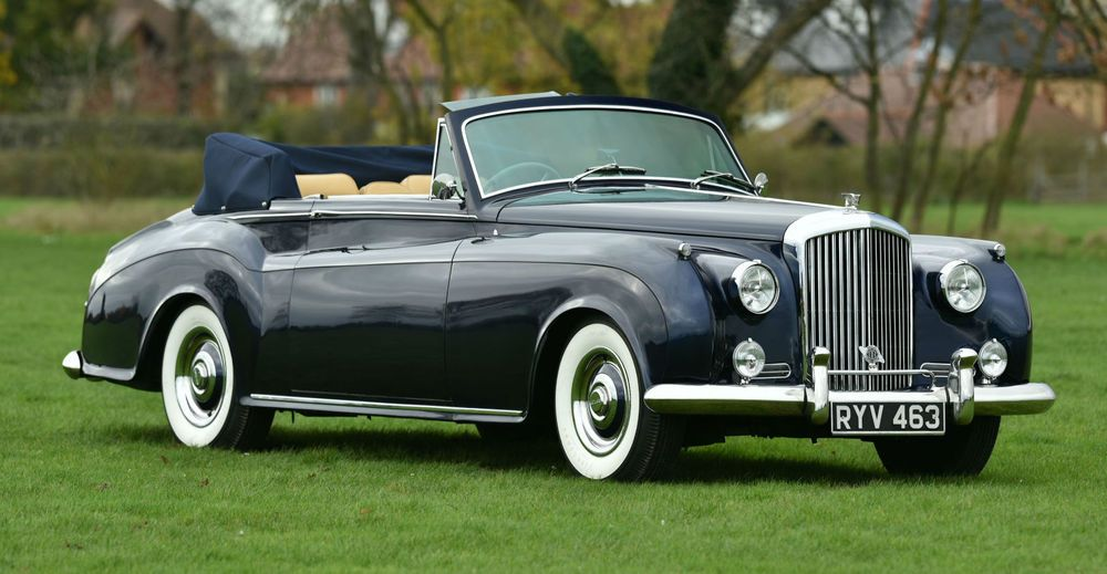1955 Bentley S1 Convertible James Young. | eBay | Lovely Old Cars ...