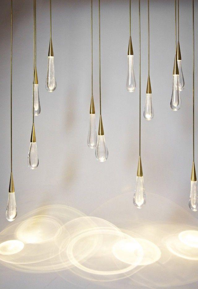 The Pour Lights By Design Haus Liberty Light Sculpture Interior