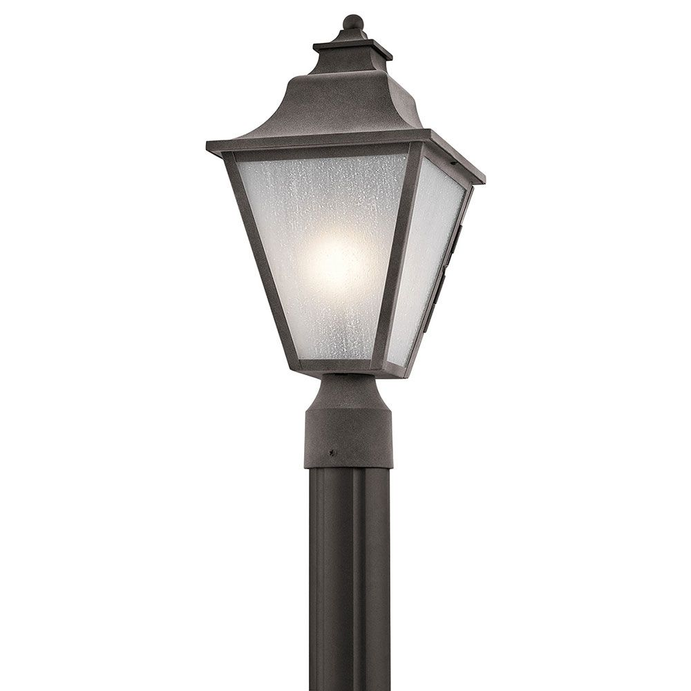 Kichler 49705wzc northview weathered zinc outdoor lamp post light kichler 49705wzc northview weathered zinc outdoor lamp post light kic 49705wzc arubaitofo Image collections