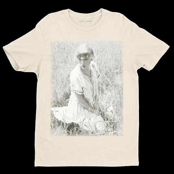 The Betty S Garden T Shirt Digital Standard Album Taylor Swift Official Store In 2020 Beige T Shirts Taylor Swift Merchandise Taylor Swift