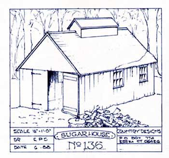 sugar house   Maple   Pinterest   Sugar  House plans and House