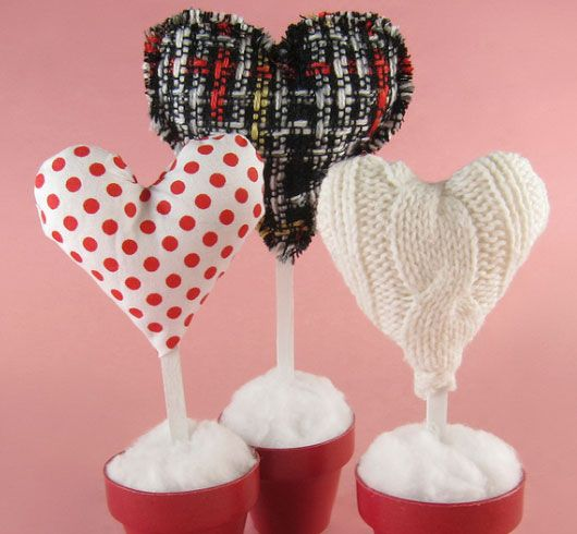 DIY Heart Crafts Ideas - Potted Hearts - Click Pic for 37 Homemade ...