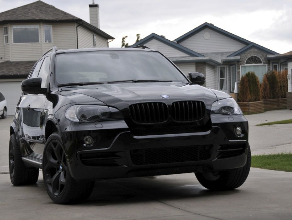 E70 X5 All Black With Images Bmw X3 Black Bmw X5 Black Bmw