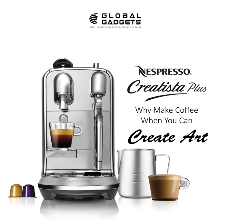 Nespresso Creatista Plus enables you to easily create an authentic ...