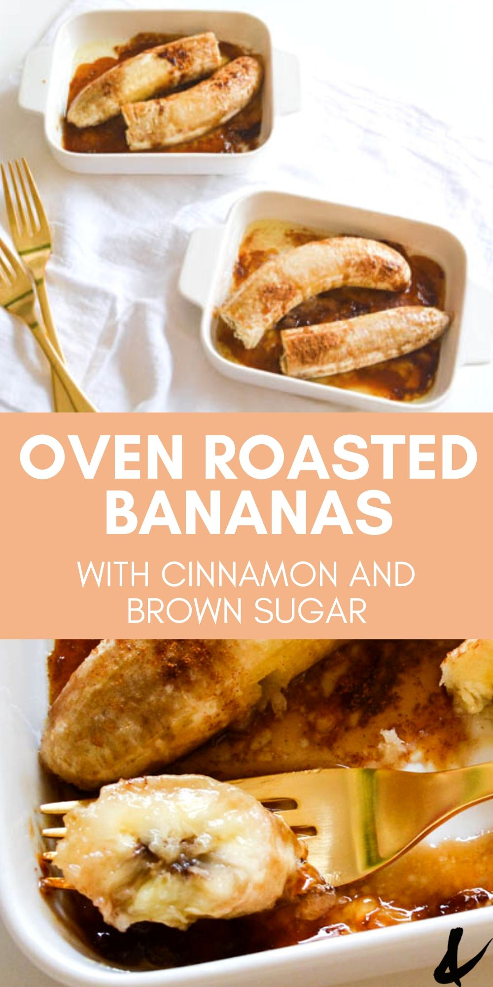 Delicious Baked Bananas With Brown Sugar Recipe Roasted Banana Baked Banana Vegan Recipes Easy