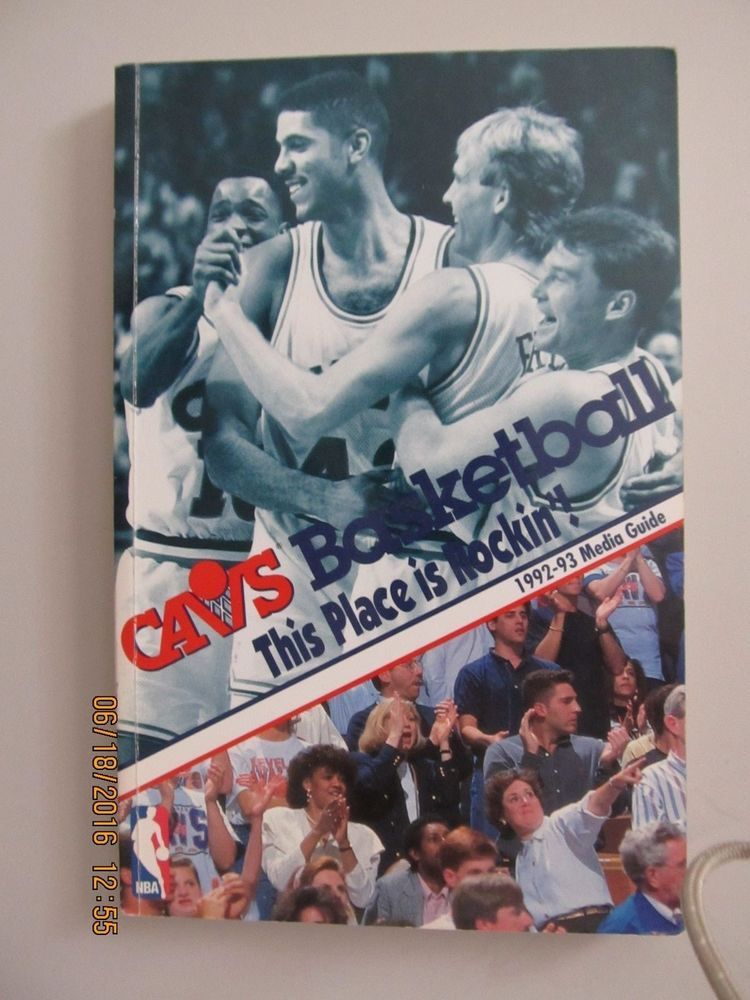 199293 CLEVELAND CAVALIERS CAVS BASKETBALL MEDIA GUIDE