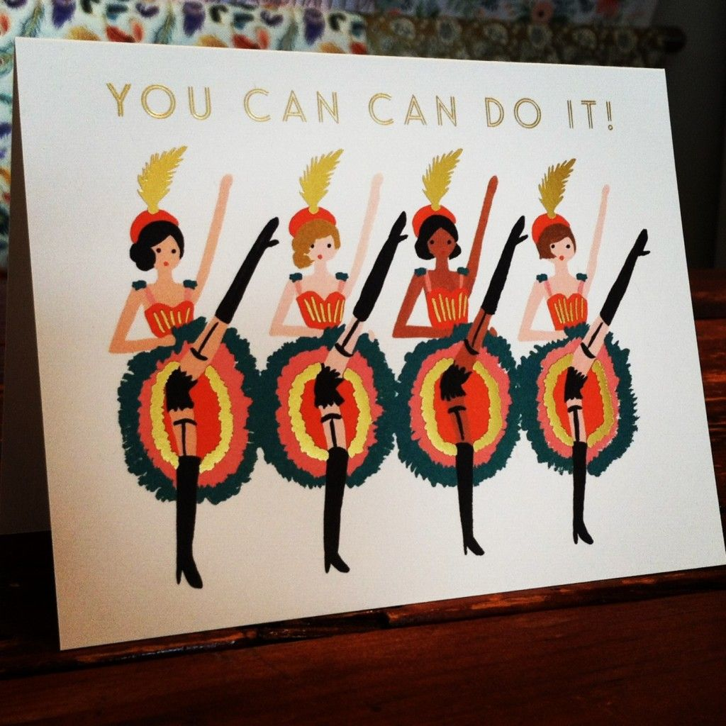 yes you can! greeting card by rifle paper co.