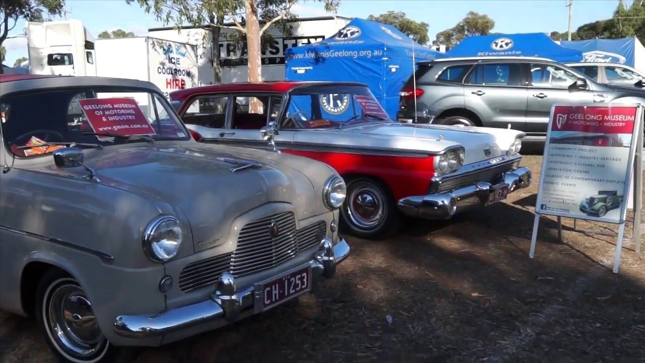 2016 Kiwanis All Ford Day:  Classic Restos - Series 30 - YouTube