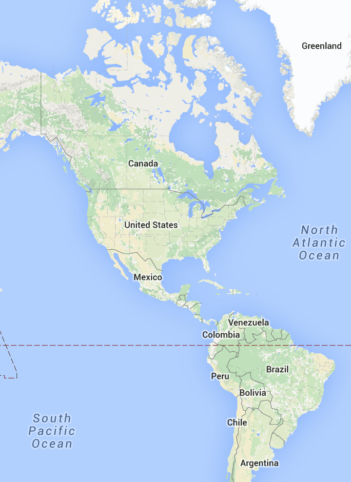 My Maps makes it easy to create and share custom maps.