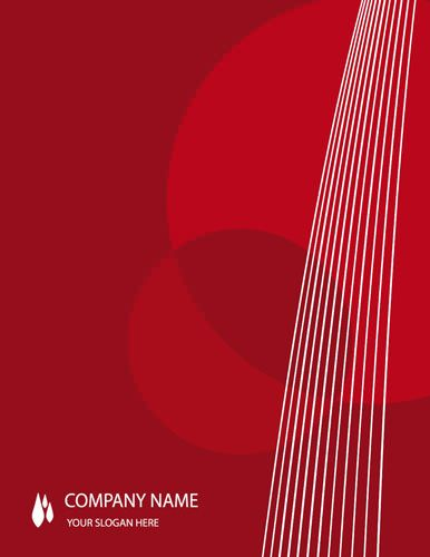 Red Background Abstract Template  Free Title Page Template By