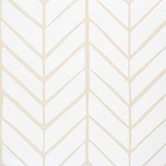 Feather Wallpaper in Bone, a perfect backdrop for a neutral nursery. #serenaandlily