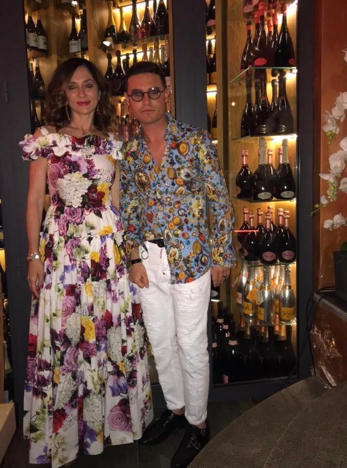 Stupendi, affascinanti @annamariadifrancesco_ con suo figlio Giuseppe Cianciolo …