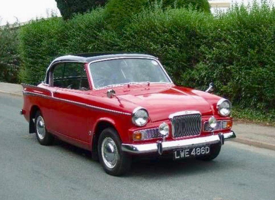Sunbeam Rapier MkV 1966 | Old English Cars | Pinterest | Cars