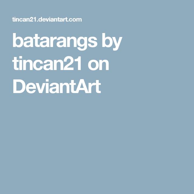 batarangs by tincan21 on DeviantArt