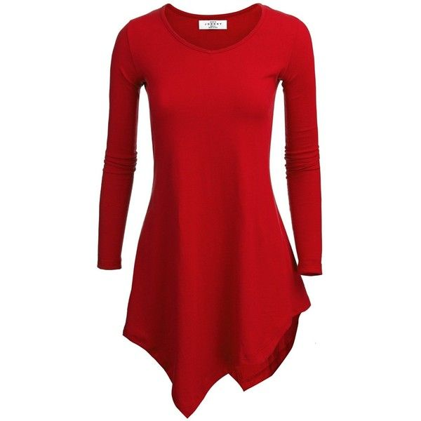 Long Red Tunics