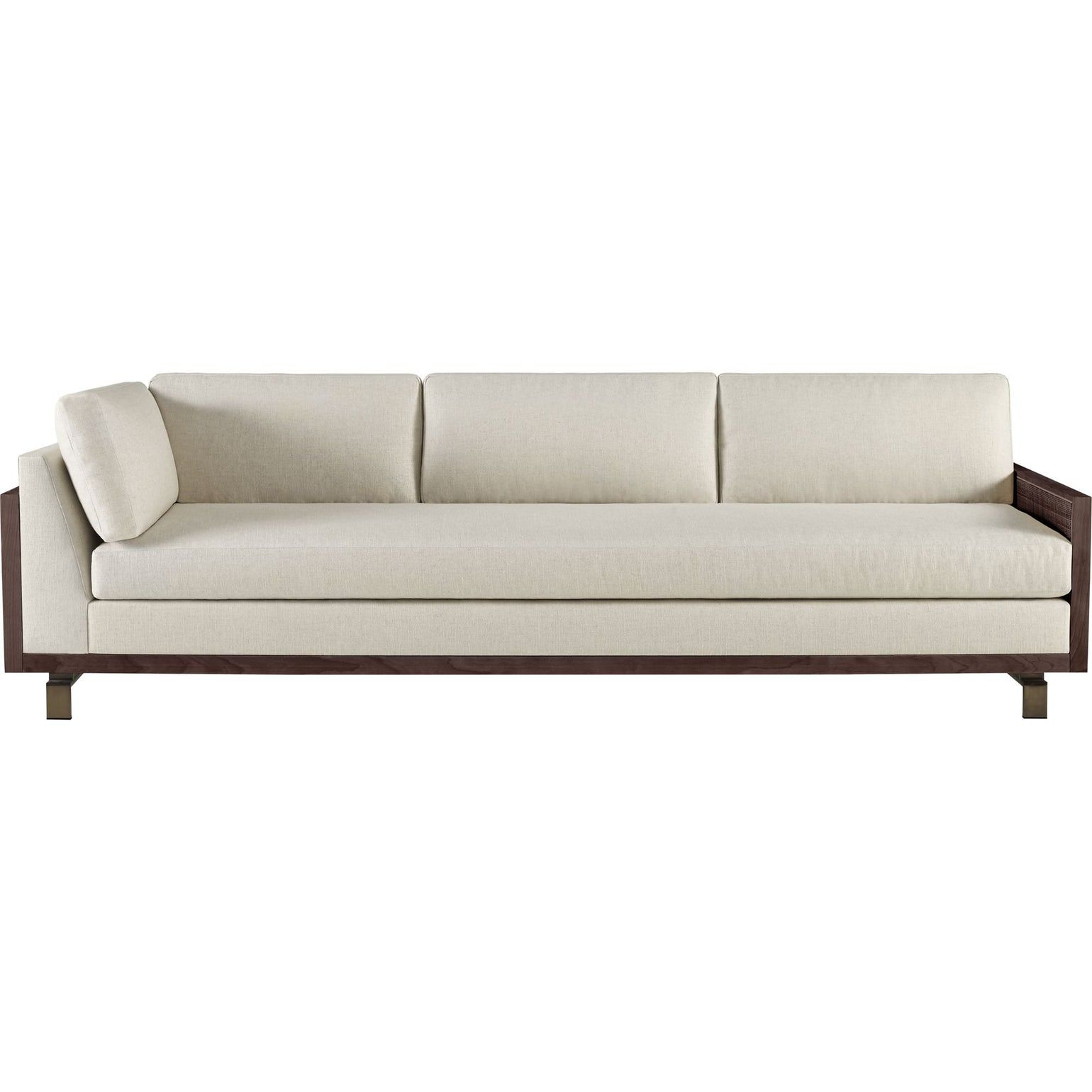 Barbara Barry Thacher Sectional Triple Return Right And Left Facing Contemporary Sofas Sect Contemporary Sectional Sofa Living Room Sofa Design Sofa Design