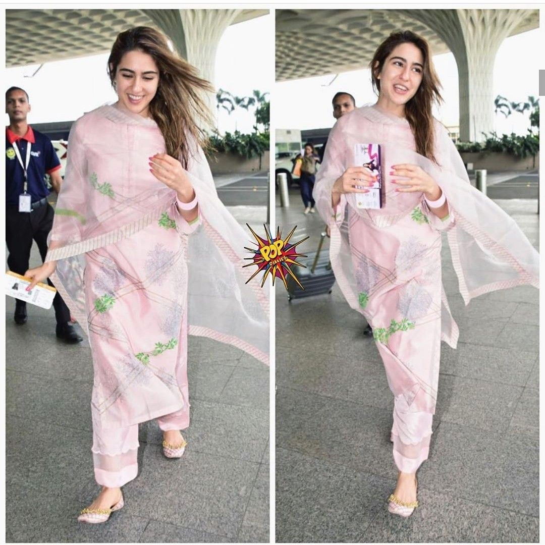 Be A Gorgeous Desi Girl Like Sara Ali Khan. 5 Glam Sharara