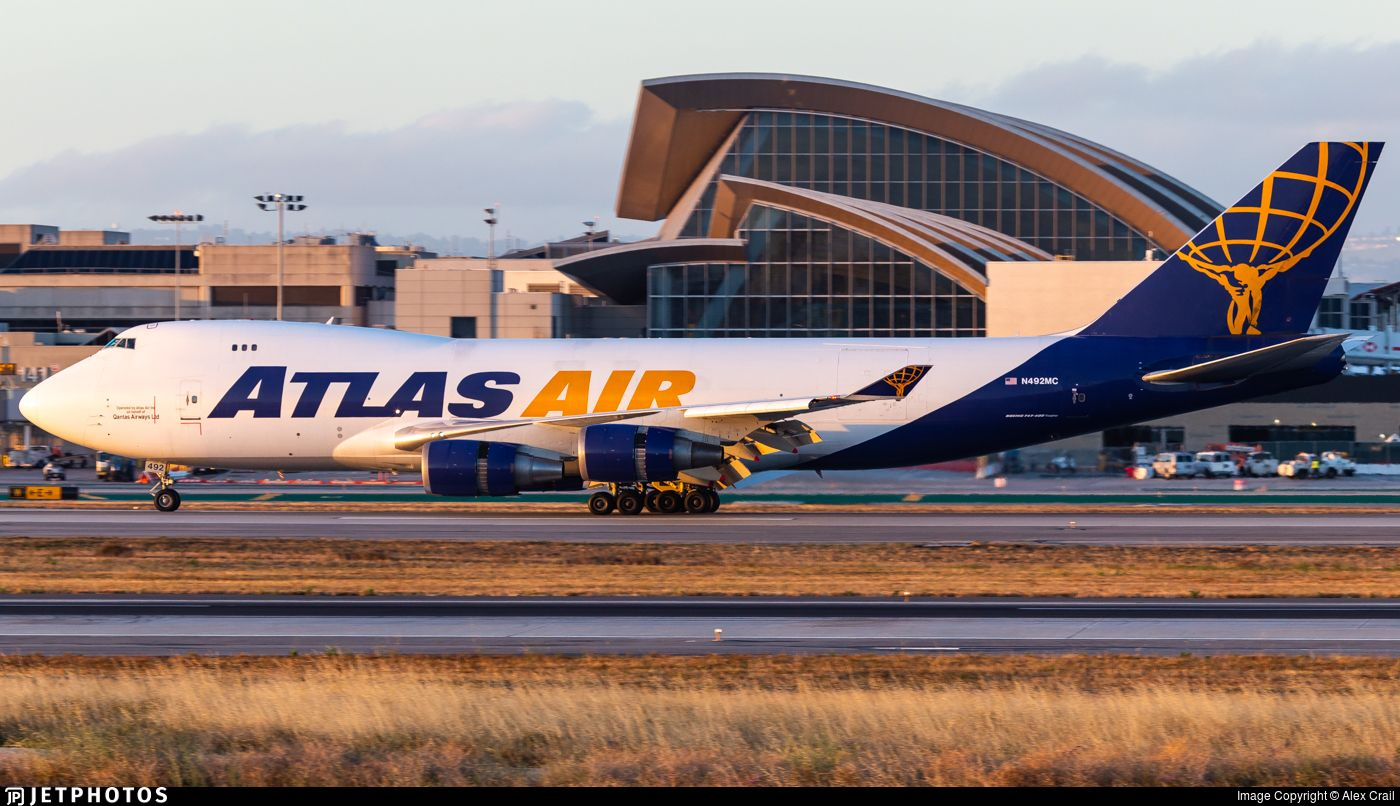 Airline Atlas Air Registration N492MC Aircraft Variant