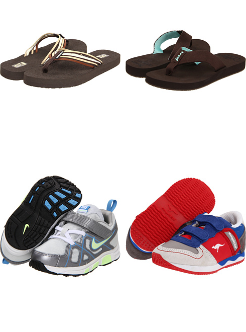 new product 19ba9 df547 Teva, Reef, Nike Kids, KangaROOS Kids at 6pm. Free shipping, get