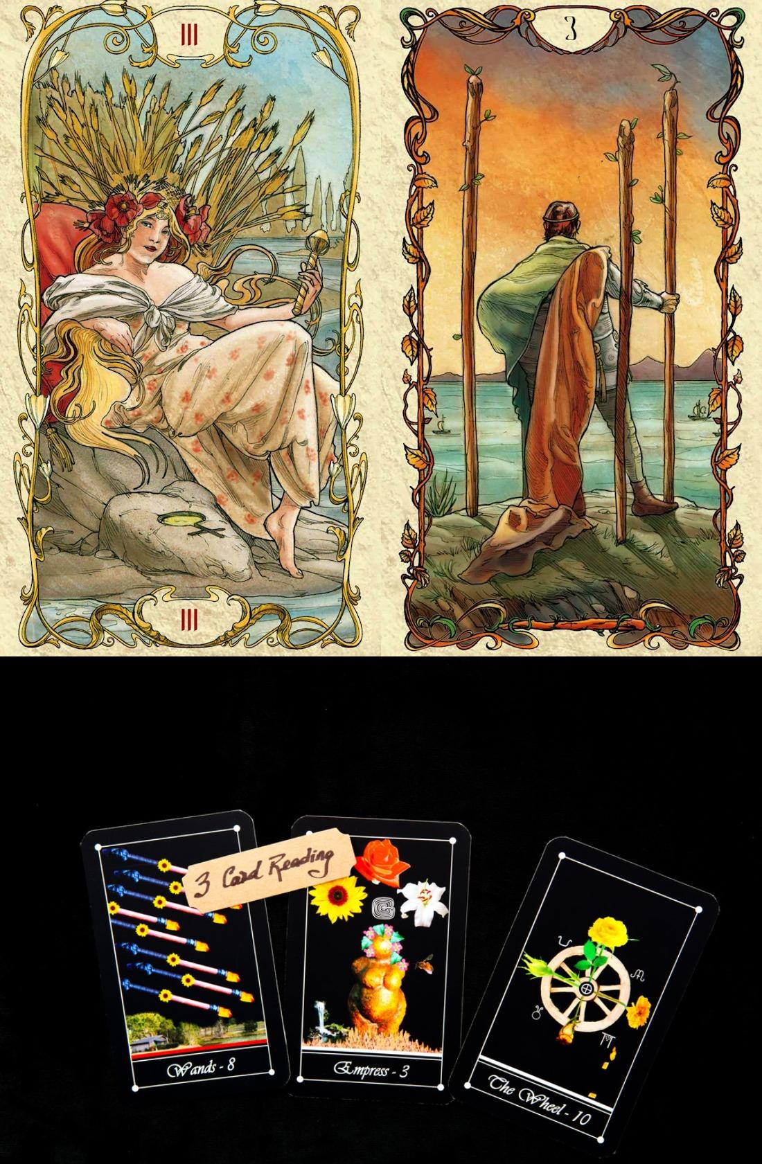 tarot online besplatno, tarot of the hidden realm and tarot