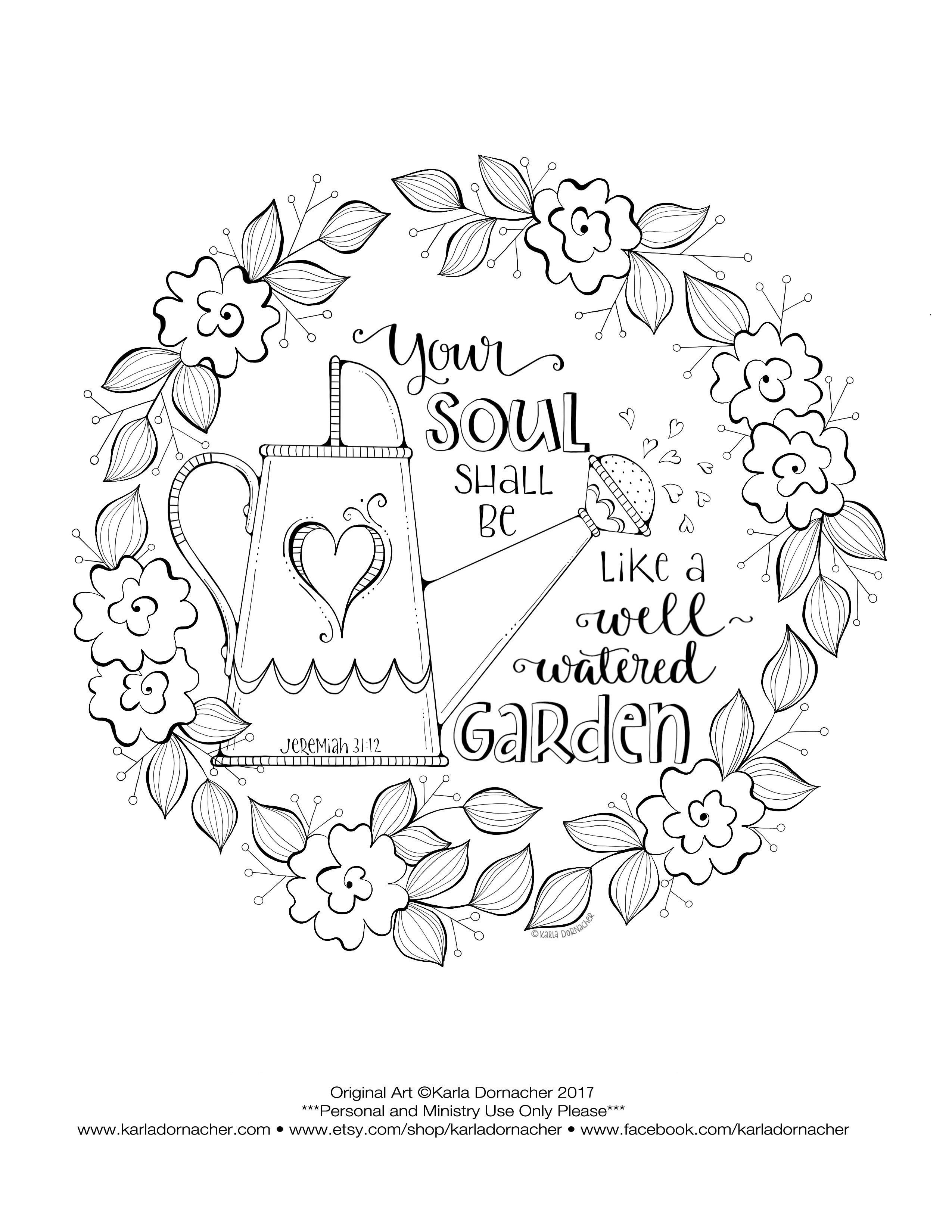 spiritual gifts coloring pages | Pin on Coloring pages