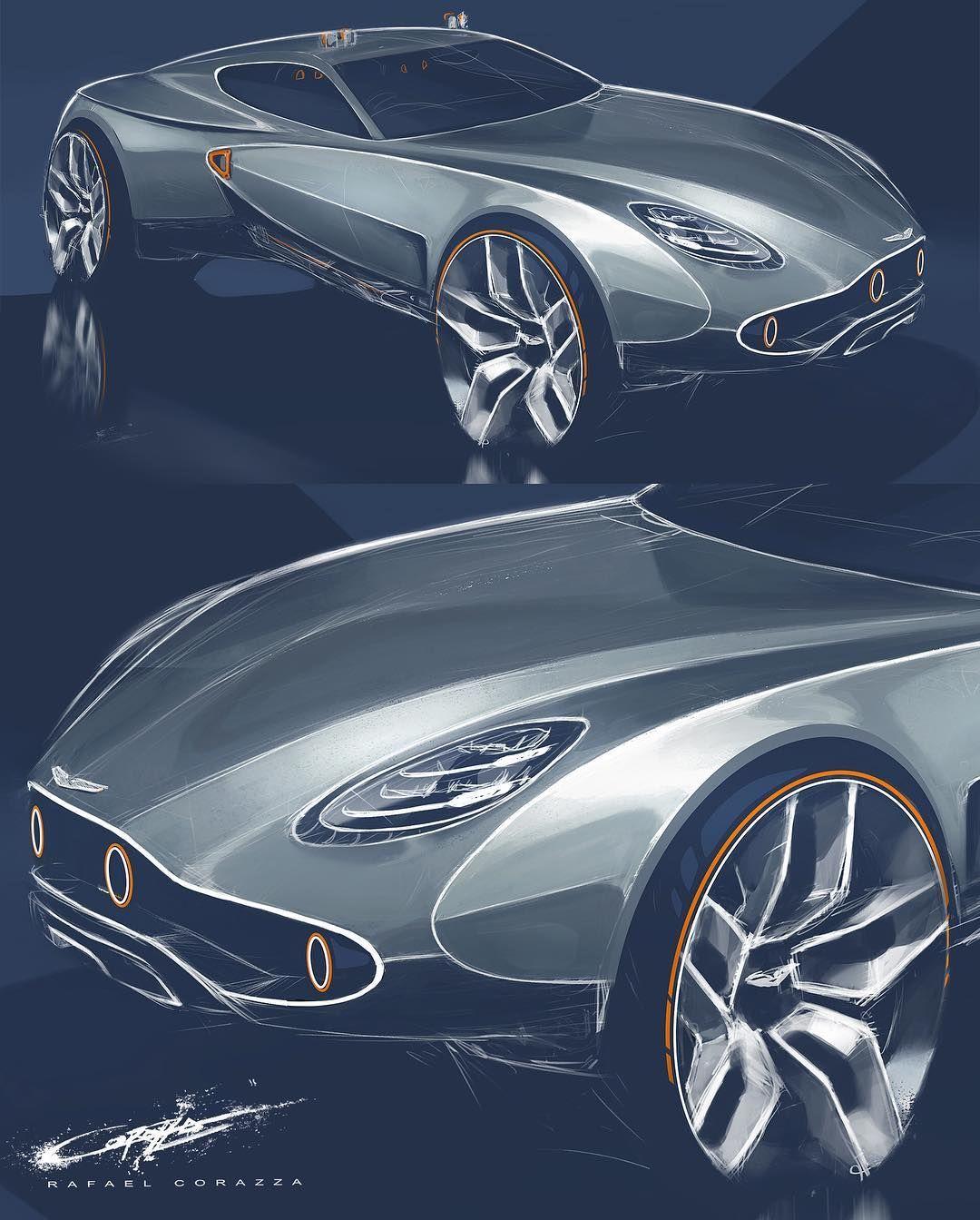 Aston Martin Sketch: Aston Martin Off-roader?? 🤪#AstonLove. . . #Astonmartin