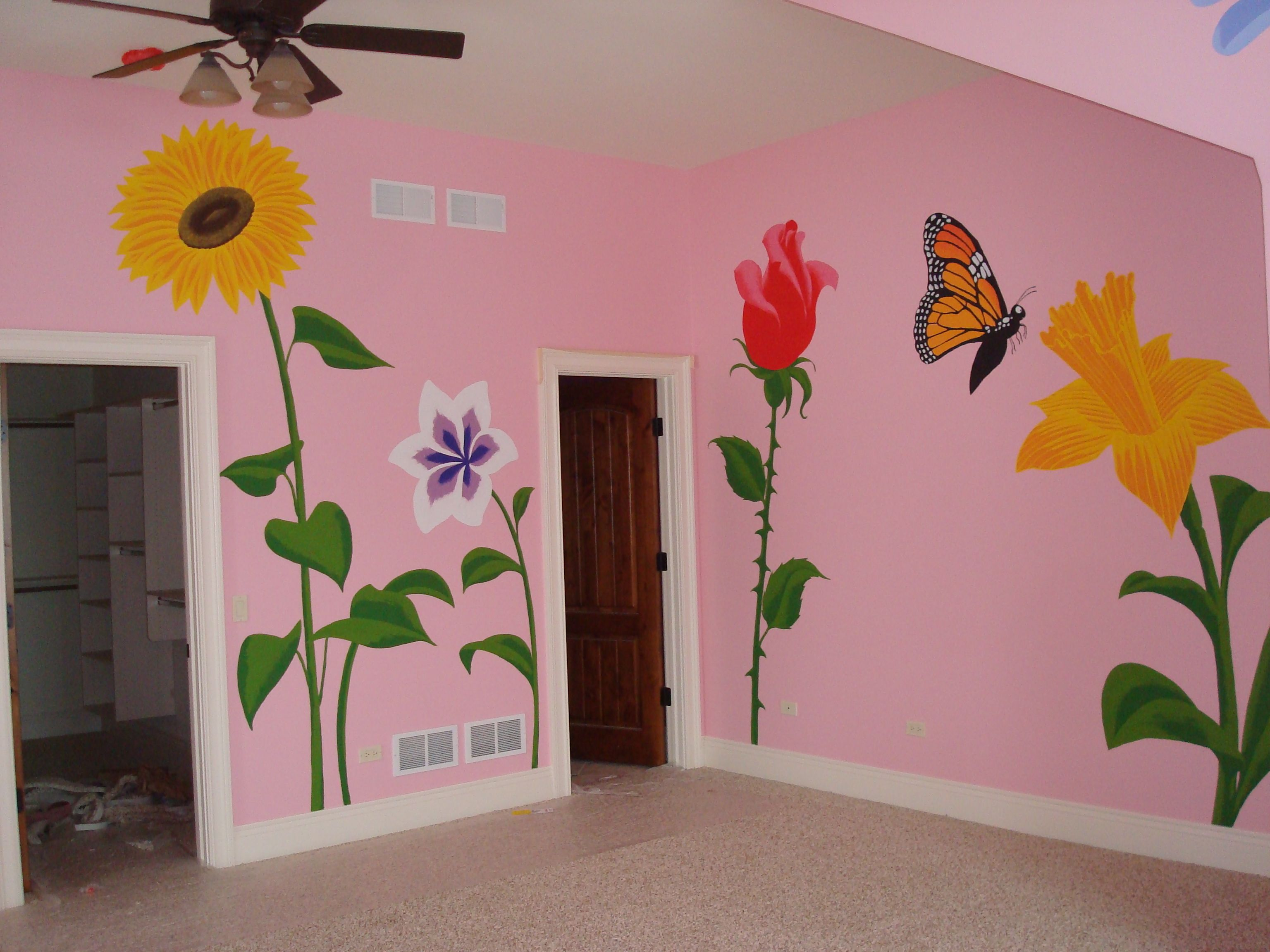 Perfect For An Alice In Wonderland Bedroom....