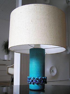 Ceramano Ceralux Lampbase Vintage Lamps Mid Century Pottery Mid Century Lighting