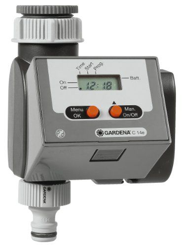 Gardena Electronic Water Timer 2015 Amazon Top Rated Hose Timers Lawn Patio