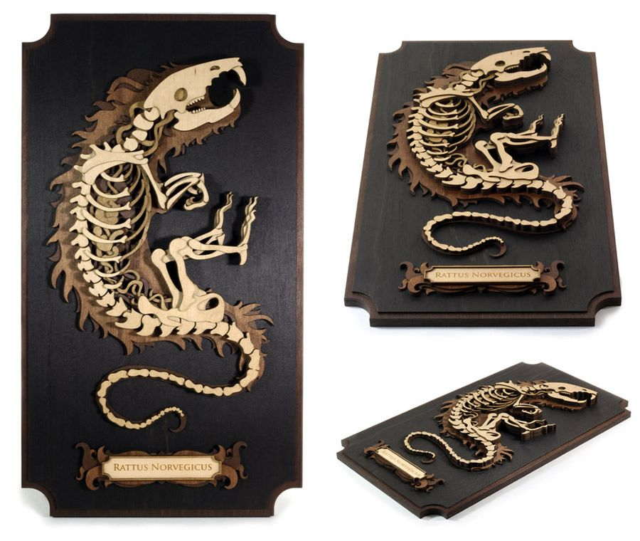Splendid Wood Cutout Sculptures By Martin Tomsky Mit Bildern Gelasertes Holz Holzkunstwerk Lasercutter