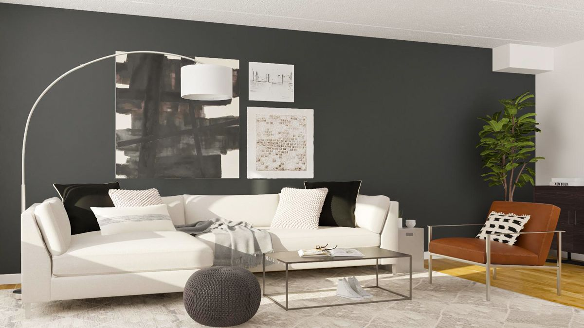 Layout Guide A Rectangular Living Room Done Two Ways Modsy